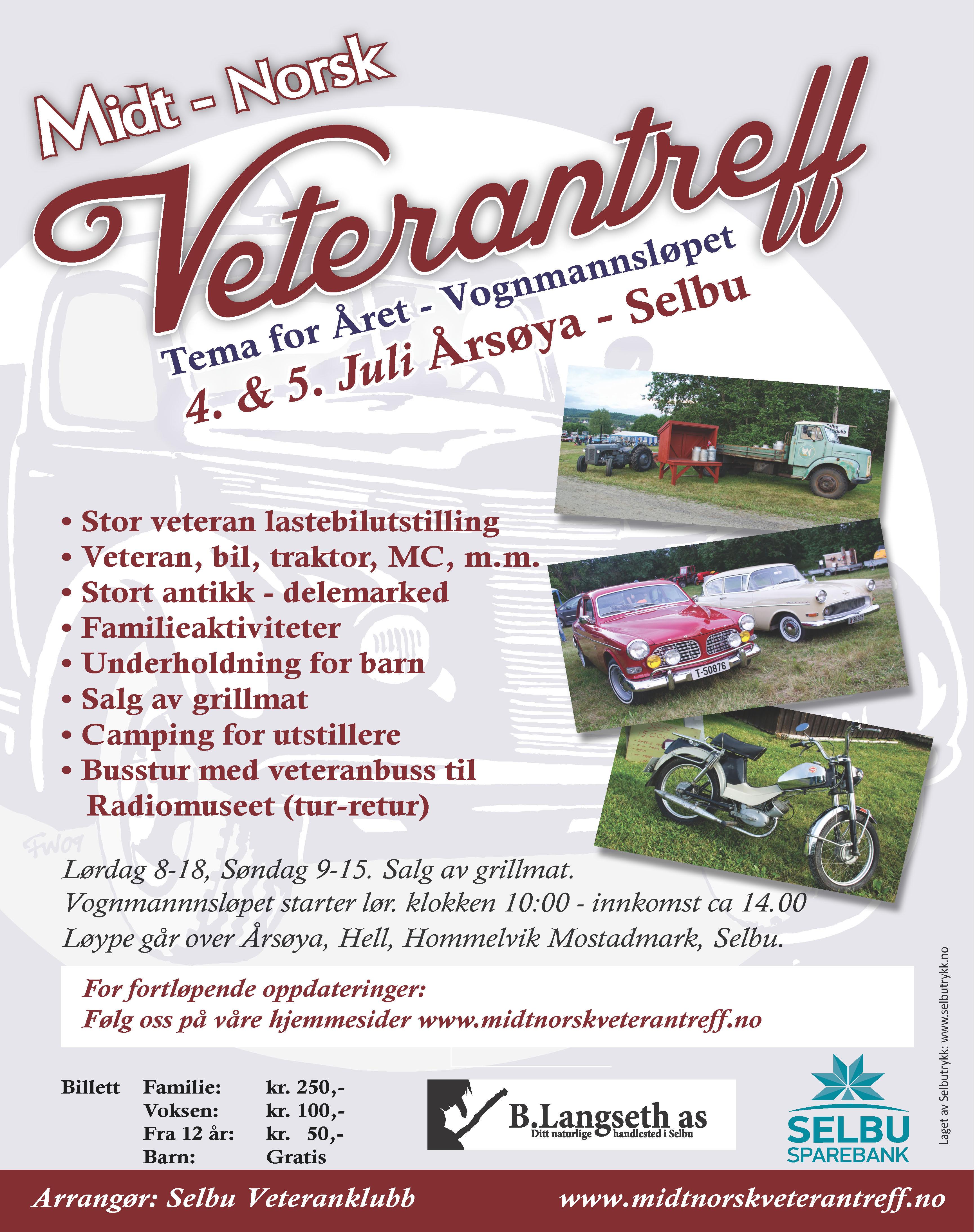 Midt Norsk Veterantreff 2015
